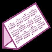 Календарь домик пирамидка